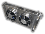 1967 – 1972 Chevy Pickup LSX Radiator – Dual HPX Fans