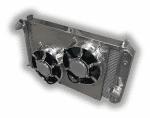 Corvette 1969 – 1972 Big Block Aluminum Radiator  – Dual HPX Fans