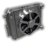 1987 – 2004 Jeep YJ/TJ Chevy LSX Conversion Radiator – 16″ HPX Fan