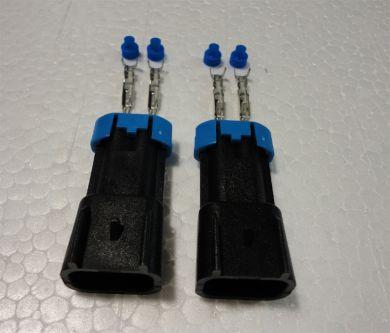 Metripak 280 Male Connectors
