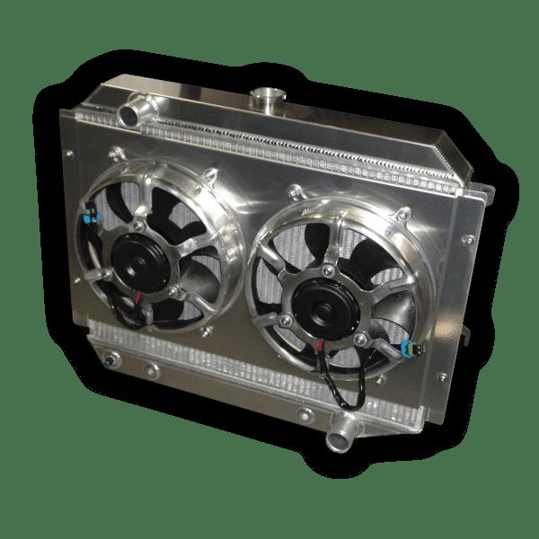 """1966 - 1974 Mopar Small Block Aluminum Radiator - 26"""" Core"""