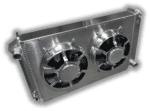 1968 – 1977 Cutlass Aluminum Radiator – Dual HPX Fans