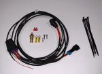 Single HD Electric Cooling Fan Harness Kit