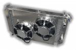 Corvette 1977 – 1982 LSX Conversion Aluminum Radiator  – Dual HPX Fans